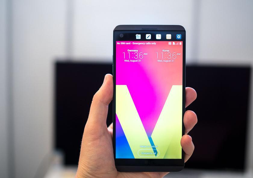 LG планирует обновить LG V20 до Android Oreo в августе