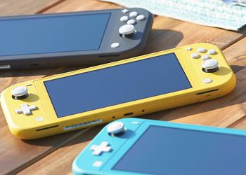 Nintendo представила зменшений і дешевший Switch Lite