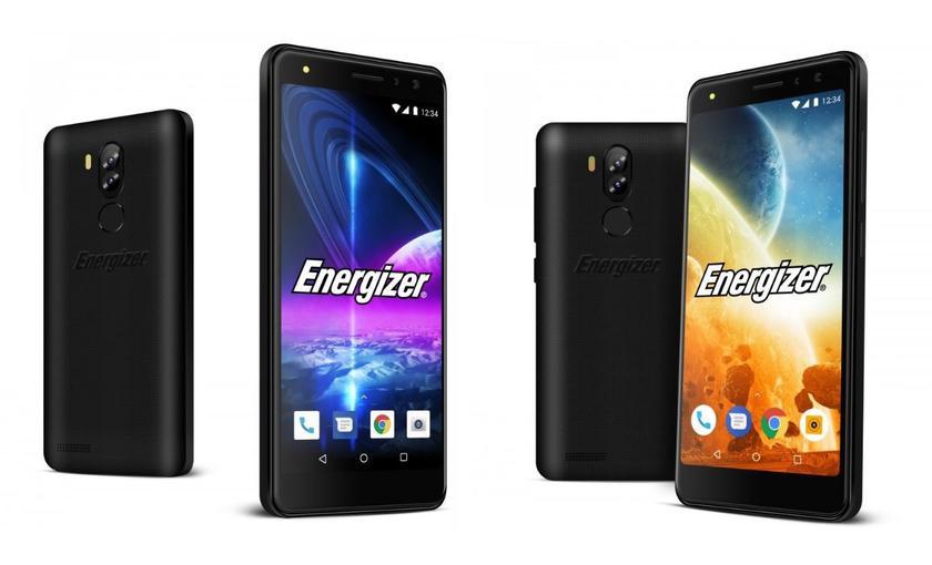 Energizer представила пару ультрабюджетных смартфонов с двумя двойными камерами