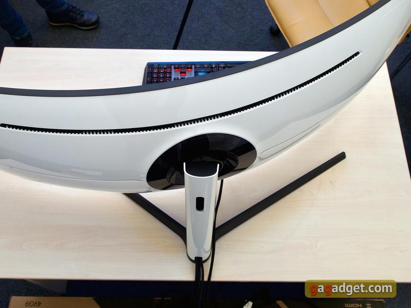 Обзор Samsung Odyssey G9: первый в мире геймерский монитор с радиусом изгиба 1 метр-58