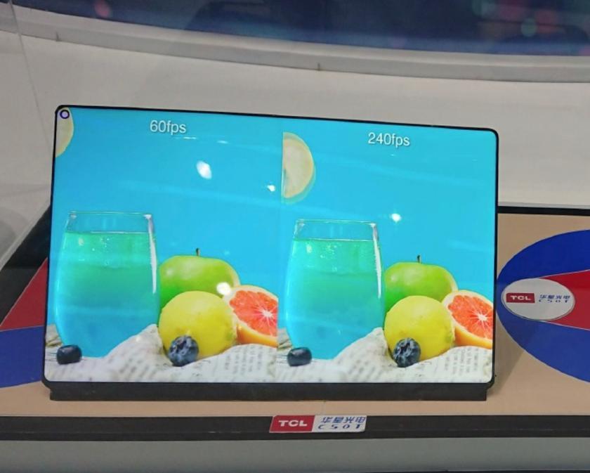 TCL WQ Gaming Tablet Display: «дырявый» дисплей для игровых планшетов с частотой обновления картинки 240 Гц