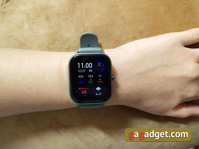 Огляд Amazfit GTS: Apple Watch для бідних?-3
