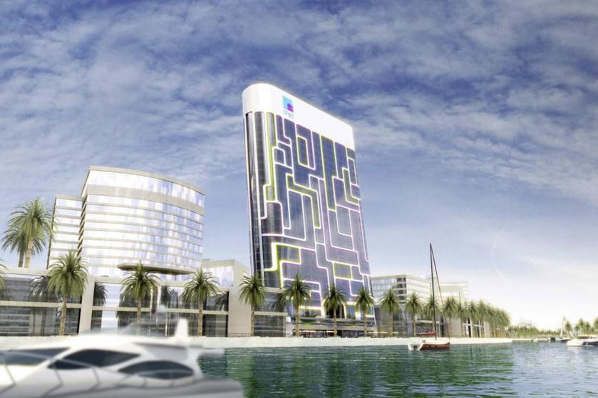 В Дубае построили небоскреб в виде iPod