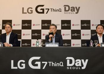 LG: we planned the design of LG G7 ThinQ with a cut before Apple