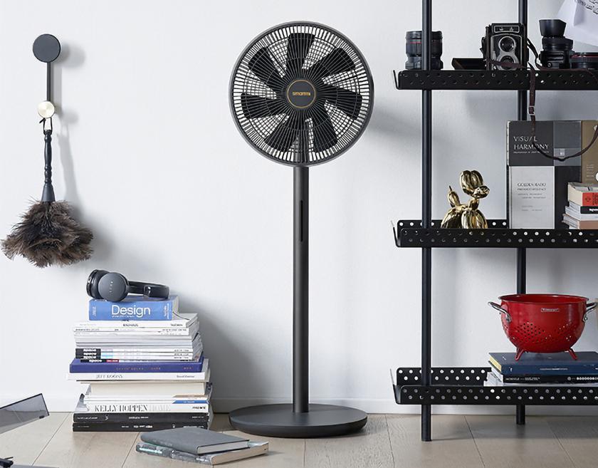 Xiaomi показала Smartmi DC Inverter Floor Fan 3: умный вентилятор с датчиком температуры, влажности и автономностью до 20 часов