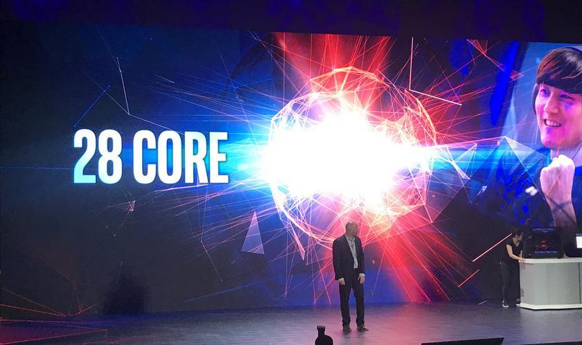 Computex 2018: Intel явила миру 28-ядерный процессор и юбилейный Core i7-8086K на 5 ГГц