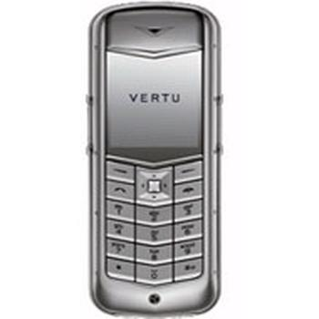 Vertu Constellation Steel Dark Brown Leather