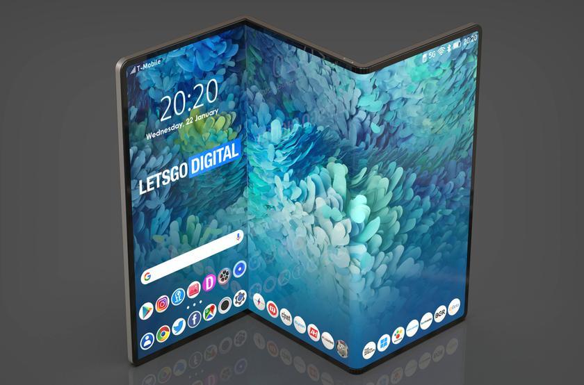 Samsung зарегистрировала торговую марку Galaxy Z Fold для своего складного планшета