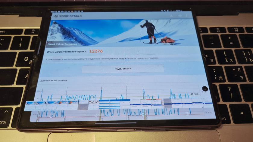 Дневник Samsung Galaxy Z Fold2: производительность на большом экране