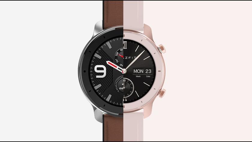 «Умные» часы Amazfit GTR подешевели после анонса Xiaomi Watch Color