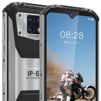 OUKITEL WP6 6.3'' FHD+ IP68 Waterproof Mobile Phone 6GB 128GB 10000mAh Battery Octa Core 48MP Triple Cameras Rugged Smartphone