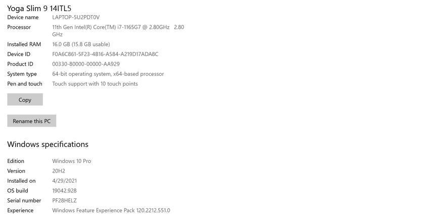 Обзор ноутбука Lenovo Yoga Slim 9i: командный центр бизнеса-43