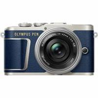 Фотоаппарат OLYMPUS E-PL9 14-42 mm Pancake Zoom Kit (V205092UU010) blue/silver