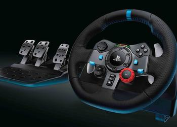 Logitech G29 and G920 Driving Force game controls for consoles and PCs with tactile feedback