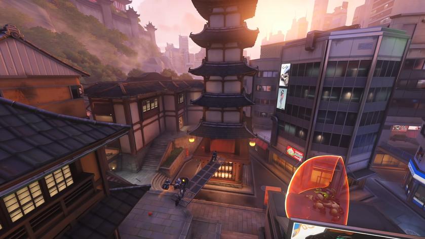 ВOverwatch появилась новая карта для боев насмерть сиспытанием наоблик «Кёгися Хандзо»