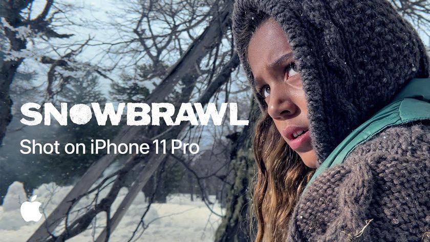 Snowbrawl: рекламный ролик, снятый режиссёром «Дэдпул-2» на камеру iPhone 11 Pro