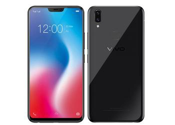 Clone iPhone X named Vivo V9 received a Snapdragon 626 chip and a 24 Mp self-camera