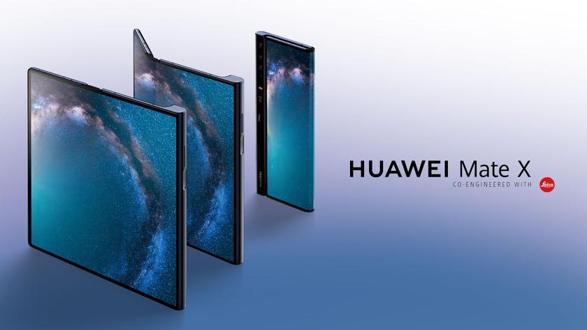 Huawei продает по 100 тысяч складных Mate X в месяц