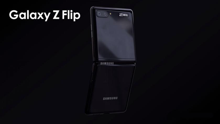 "Характеристики Samsung Galaxy Z Flip: 6,7"" дисплей, аккумулятор до 3500 мАч и без 108 Мп камеры"