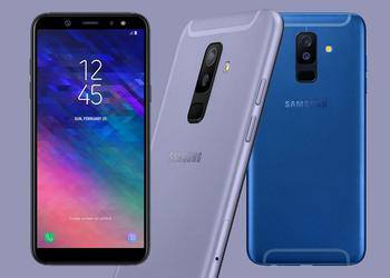 There were detailed characteristics of smartphones Samsung Galaxy J4 and J6 (2018)