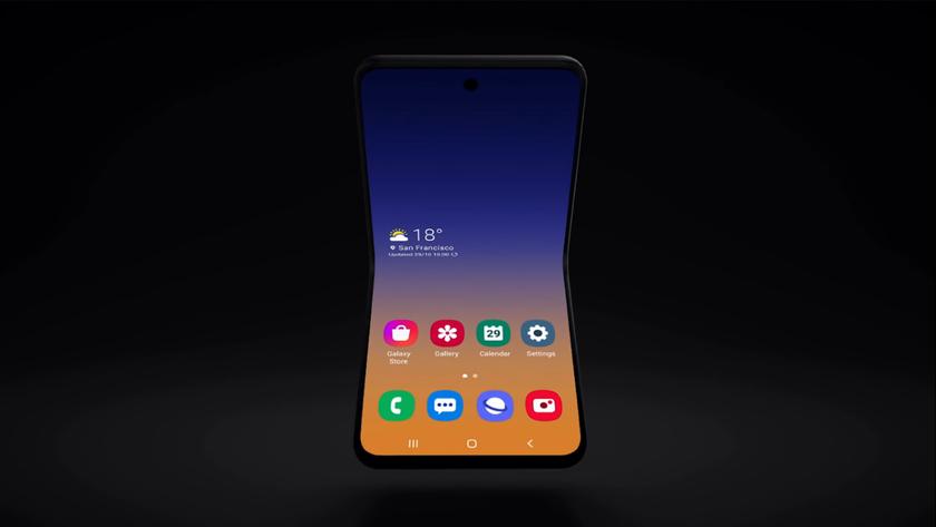 Инсайдер: Samsung Galaxy Fold 2 будет «раскладушкой», как Motorola RAZR и получит дисплей на 6.8 дюймов с отверстием
