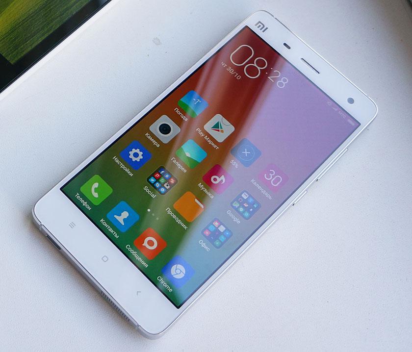 Обзор флагманского смартфона Xiaomi Mi4