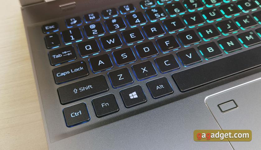Обзор Acer Predator Triton 300 SE: игровой хищник размером с ультрабук-19