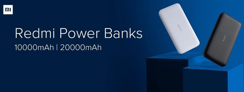 Redmi представила два повербанка с несколькими портами, быстрой зарядкой и ценником от $11