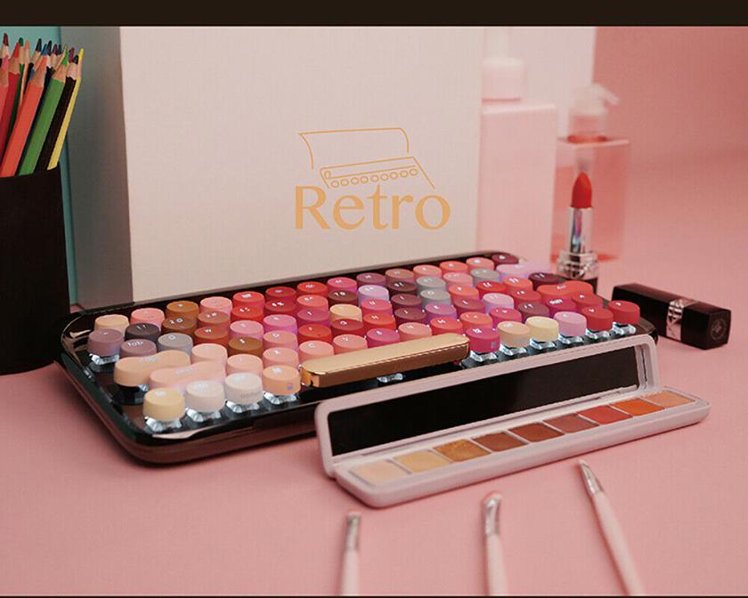 Xiaomi выпустила механическую Bluetooth-клавиатуру в цветах губной помады