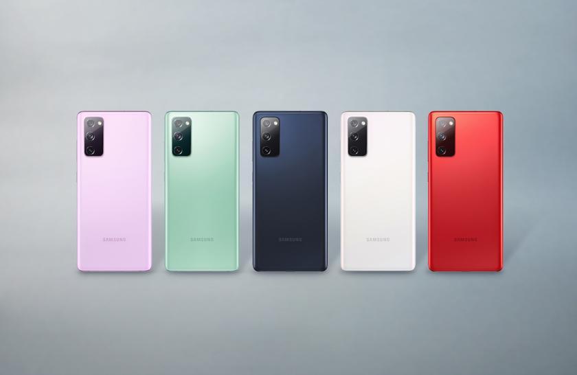 Samsung представила новую 4G-версию Galaxy S20 FE с чипом Snapdragon 865 и ценником от $558
