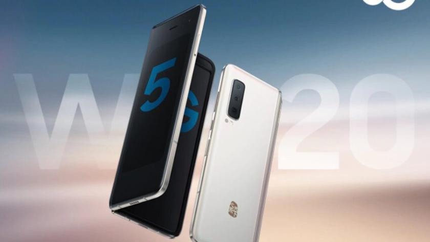 Анонс складного Samsung W20: тот же Galaxy Fold, только с 5G и чипом Snapdragon 855+