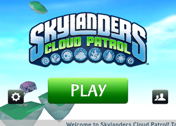 Игры для iPad. Skylanders: Cloud Patrol