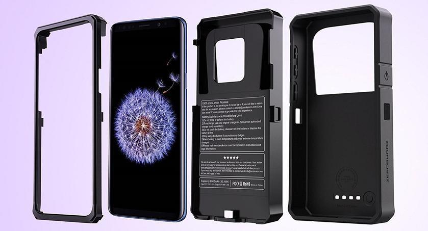 ZeroLemon выпустила чехол для Samsung Galaxy S9 и S9+ с батареей на 8000 мАч