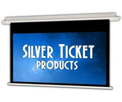 Silver Ticket In-Ceiling Electric Projector Screen