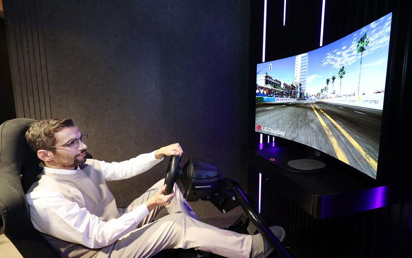 LG везет на выставку CES 2021 48-дюймовый гибкий игровой OLED-монитор