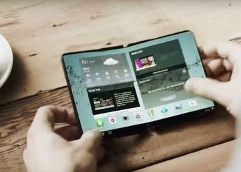 Samsung on CES secretly showed smartphones with bendable screens