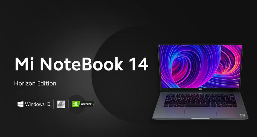 Xiaomi Mi Notebook 14: серия ноутбуков с чипами Intel 10-го поколения и ценником от $550