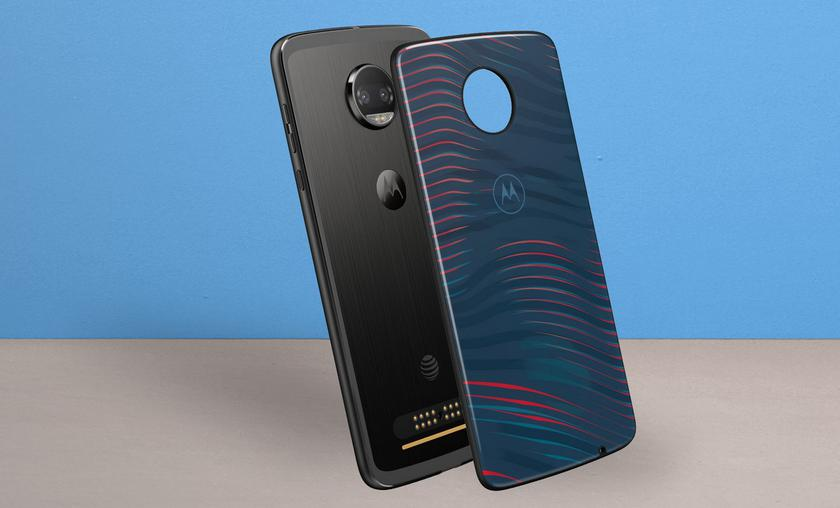 Motorola introduced the glass interchangeable panels Style Shell Moto Mods