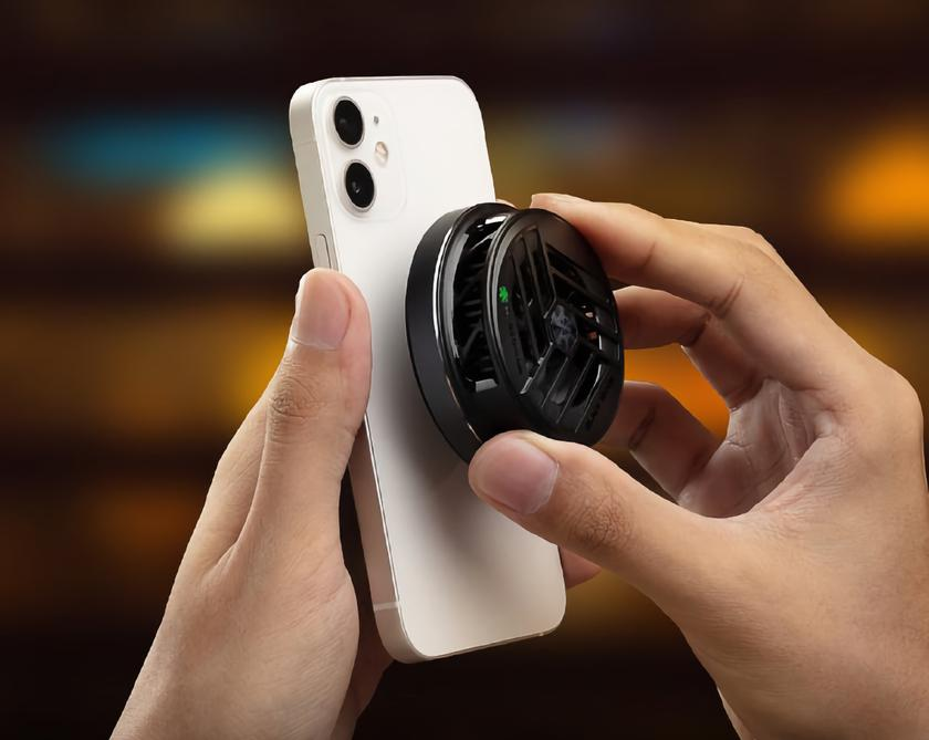 Black Shark FunCooler 2: магнитный кулер для iPhone 12