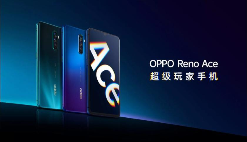 OPPO Reno Ace: 6.5-дюймовый дисплей, чип Snapdragon 855+, камера на 48