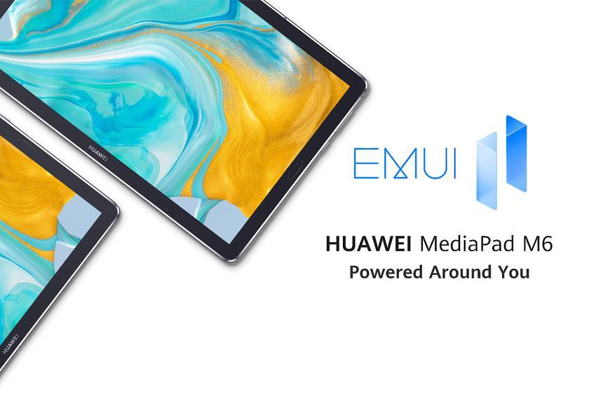 Huawei MediaPad M6 получил глобальную стабильную версию EMUI 11