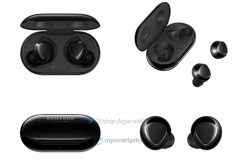 Samsung Galaxy Buds+ появились на новых рендерах в трёх расцветках