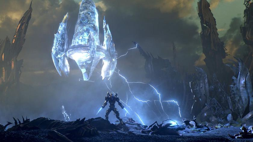 Here is the twist: StarCraft 2 turned into survival-horror
