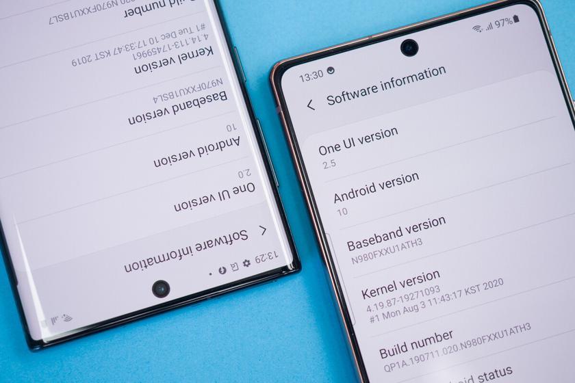15 смартфонов Samsung вскоре получат оболочку OneUI 3.1 с Android 11