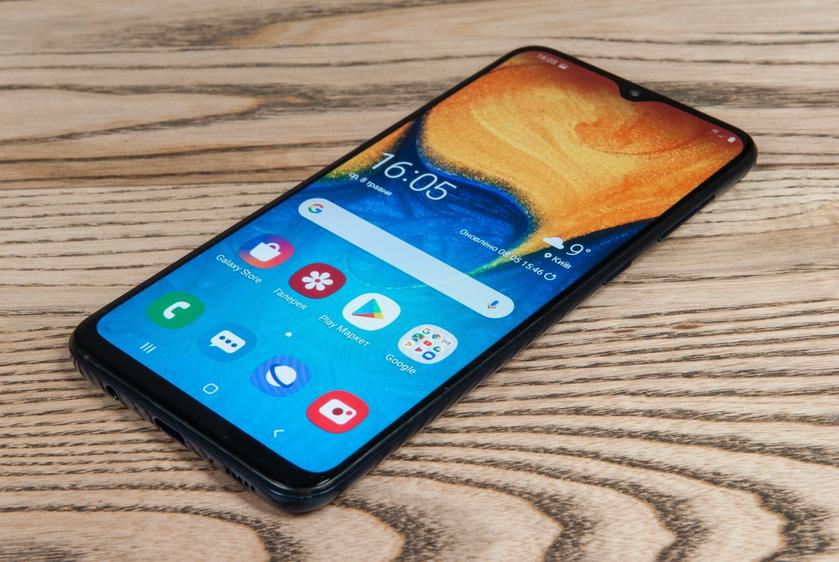 Samsung уже тестирует Android 10 на бюджетном смартфоне Galaxy A30