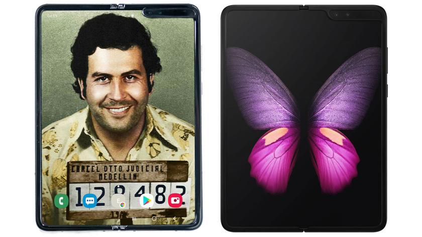 Escobar Fold 2 в честь Пабло Эскобара — на самом деле Samsung Galaxy Fold, и никто этого не скрывает!