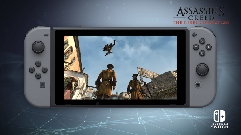 Ubisoft: поліпшені Assassin's Creed 4: Black Flag та Rogue вийдуть на Nintendo Switch у грудні