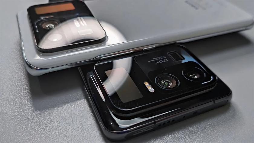 Xiaomi готовит ещё один смартфон с дополнительным экраном на задней стороне, как у Mi 11 Ultra