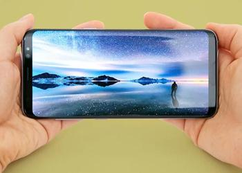 The photo of the Samsung Galaxy S9 box with the characteristics of the smartphone has gone to the network