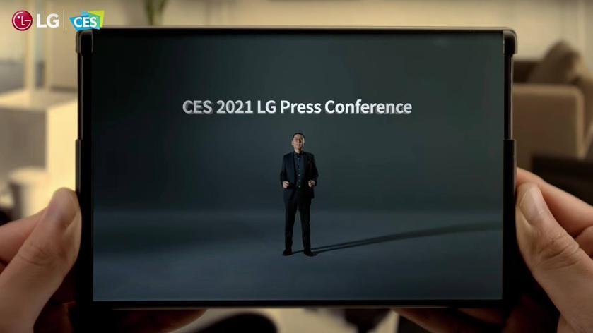 LG рассказала когда растягивающийся смартфон Rollable выйдет на рынок